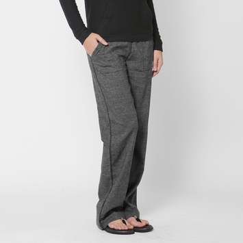 Hemp SALE / Prana Mantra Pant in Black Herringbone