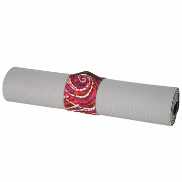 Eco SALE / Prana Yoga Mat Rap in Paprika Swirl