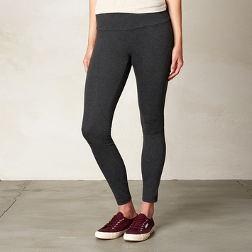 Prana Moto Legging in Charcoal
