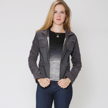 Prana Nadine Denim Cord Jacket in Denim