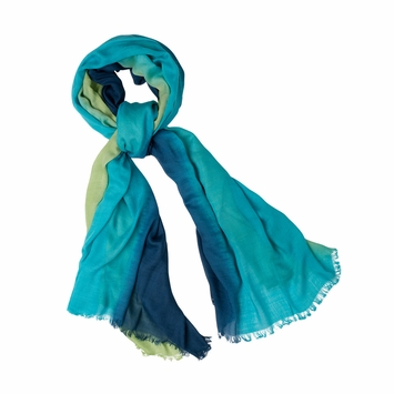 Prana Ombre Scarf in Teal