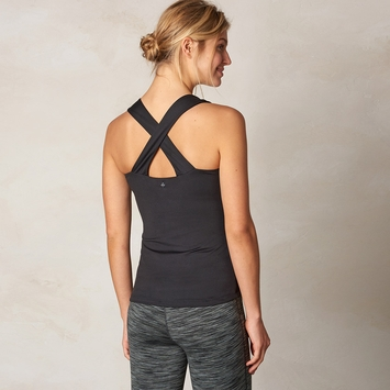 Eco Prana Phoebe Tank Top in Black