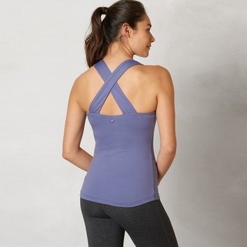 Eco Prana Phoebe Tank Top in Purple Fog
