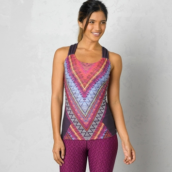Eco SALE / Prana Phoebe Tank Top in Plum Panama
