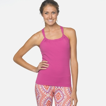 SALE / Prana Quinn Tank Top in Vivid Viola