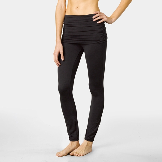 Prana Remy Skirted Legging ( Black )