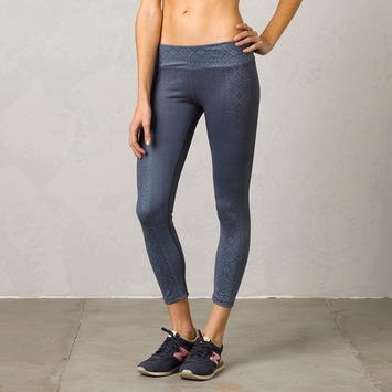 SALE / Prana Roxanne Printed Legging in Black Limbo