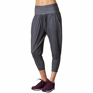 Eco SALE / Prana Ryley Crop Pant in Charcoal Ziggie