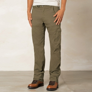 Prana Stretch Zion Pant in Cargo Green