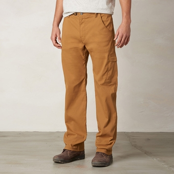 Prana Stretch Zion Pant in Dark Ginger