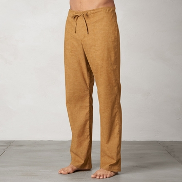 Hemp SALE / Prana Sutra Drawstring Pant in Dark Ginger