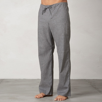 Hemp Prana Sutra Drawstring Yoga Pant in Gravel