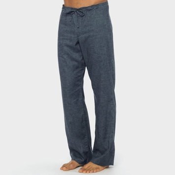 Hemp Prana Sutra Drawstring Yoga Pant in Nautical