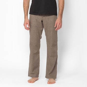 Hemp SALE / Prana Sutra Drawstring Pant in Mud