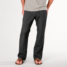 Hemp Prana Sutra Drawstring Pant in Black