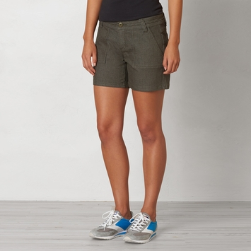 Organic Prana Tess Short in Cargo Green