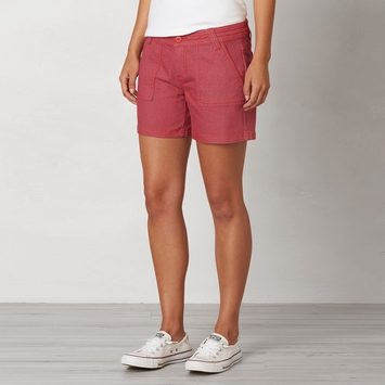 Organic Prana Tess Short in Sunwashed Red
