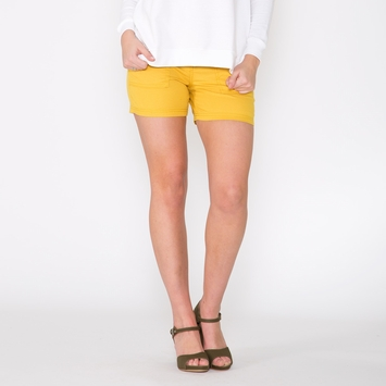 Organic Prana Tess Short in Lemon