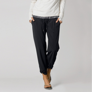 Eco Prana Uptown Pant in Black