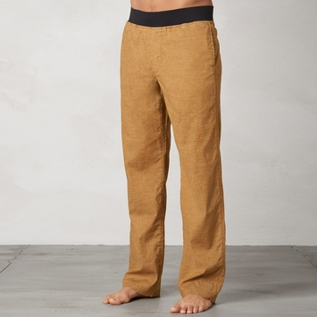 Hemp Prana Vaha Yoga Pant in Dark Ginger