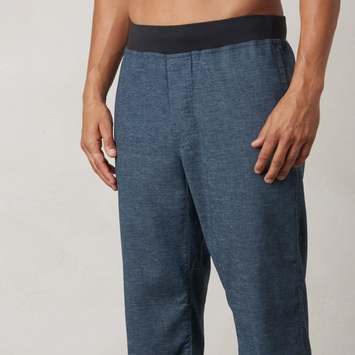 Hemp Prana Vaha Yoga Pant in Nautical