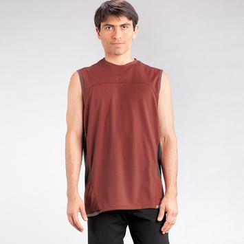 Eco Prana Vertigo Sleeveless in Tomato