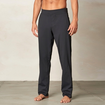 Prana Wyler Stretch Knit Pant in Black