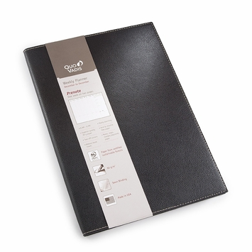 Quo Vadis 2020 Club Prenote #24 Planner (8.25 x 11.625) in Black
