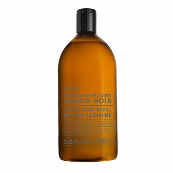 REFILL Savon de Marseille Exotic Pur Liquid Soap (33.8 oz) in Black Jasmine
