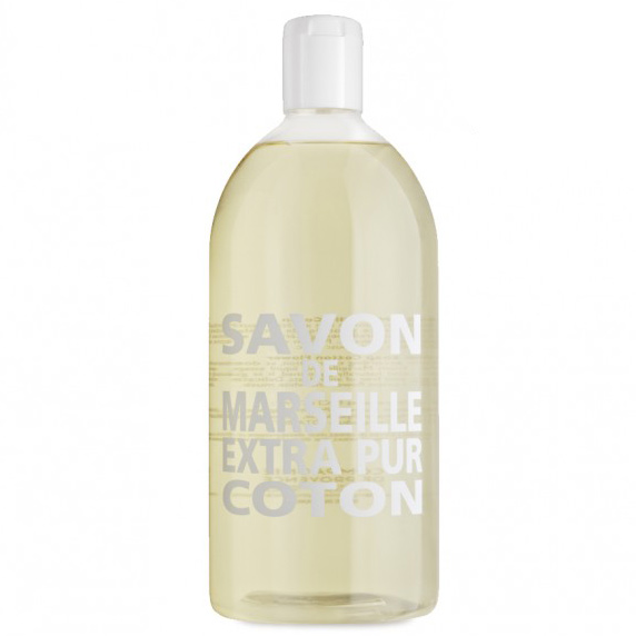 refill savon de marseille extra pur liquid soap 33 8 oz in natural bath spa at vickerey. Black Bedroom Furniture Sets. Home Design Ideas
