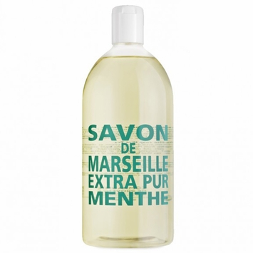 REFILL Savon de Marseille Extra Pur Liquid Soap (33.8 oz) in Mint Tea