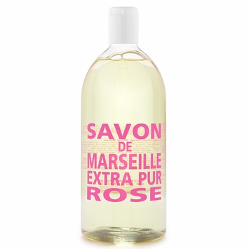 REFILL Savon de Marseille Extra Pur Liquid Soap (33.8 oz) in Rose