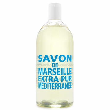 REFILL Savon de Marseille Extra Pur Liquid Soap (33.8 oz) in Mediterranean Sea