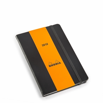 Rhodia 2017 Pocket Weekly Planner (4 x 6) in Black