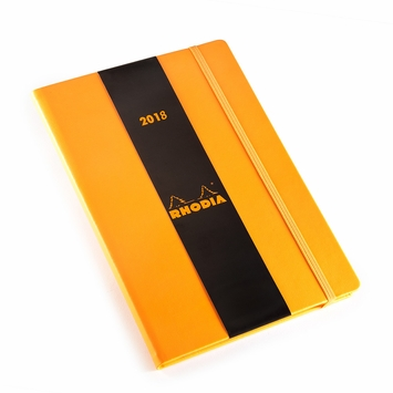 Rhodia 2020 Large Weekly Planner (6.25 x 9.5) in Orange