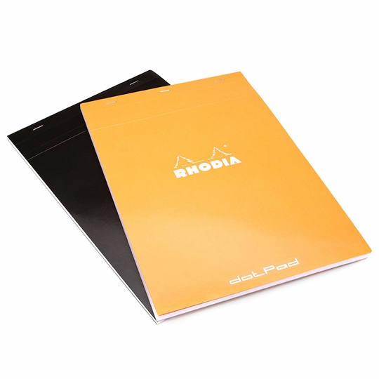 Rhodia A4+ No. 19 dotPad (8.25 x 12.5) ( Orange )