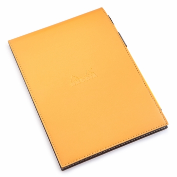 Rhodia Premium No. 16 Notepad & Pencil Gift Set (6 x 8.25) in Orange
