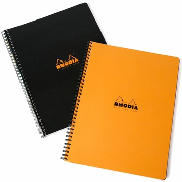 Rhodia Side Spiral Bound A4 4-Color Book (8.25 x 11.75)