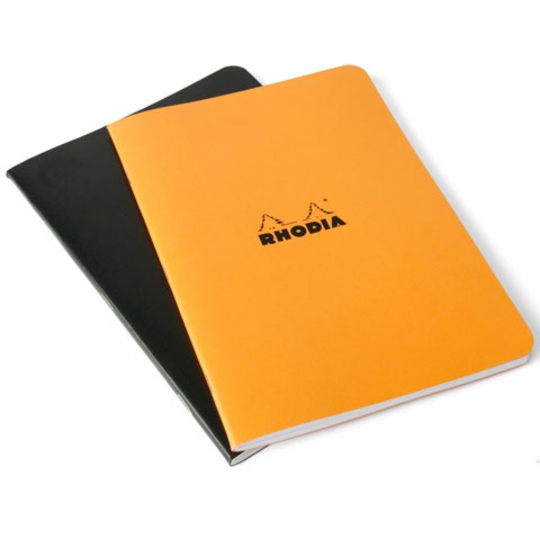 Rhodia Side Staple Bound Pocket Notebook (3 x 4.75)