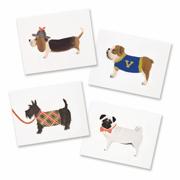 Rifle Paper Assorted Dog Set Boxed Cards