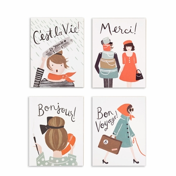 Rifle Paper Assorted French Set Boxed Cards