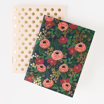 Rifle Paper Rosa Pocket Notebooks