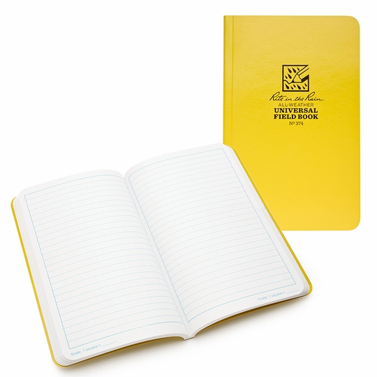 Rite in the Rain Large Soft Cover Universal Notebook (4.625 x 7.25) ( Universal )