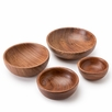 Roost Rosewood Nut Bowls (Set of 4)