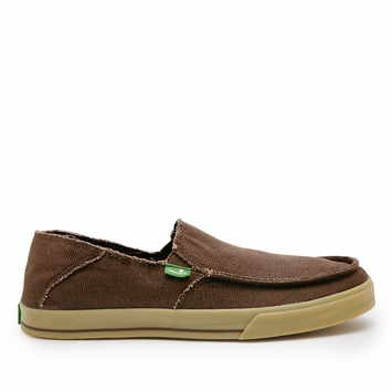 Sanuk Standard Shoe in Dark Brown