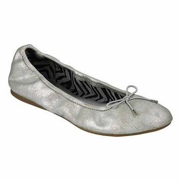 Sanuk Metallic Ballet Shoe in Silver