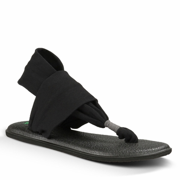 Sanuk Yoga Sling 2 Sandal in Black