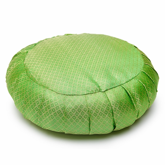 Sari Zafu Meditation Cushion ( Green )