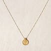 Satya Gold Mandala Pendant Necklace