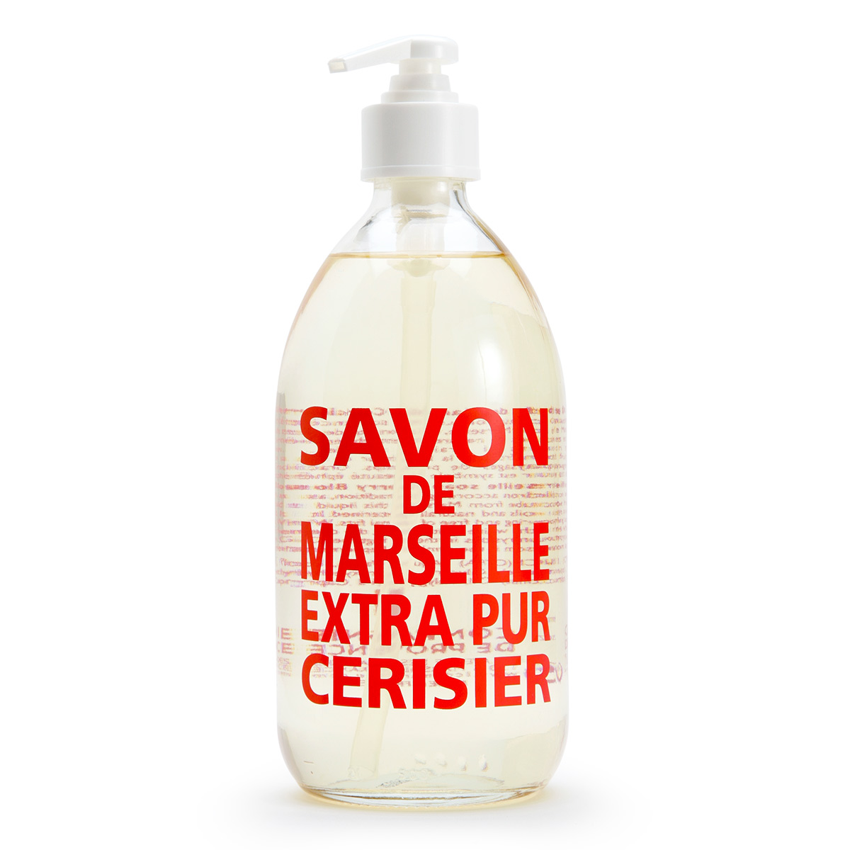 savon de marseille extra pur liquid soap 16 9 oz glass bottle natural bath spa at vickerey. Black Bedroom Furniture Sets. Home Design Ideas